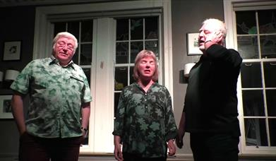 JIB (Jim Mageean, Ingrid & Barrie Temple) Lewes Saturday Folk Club