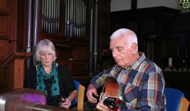 'All The Birds Of The Air', Vic & Tina Smith, Lewes Saturday Folk Club